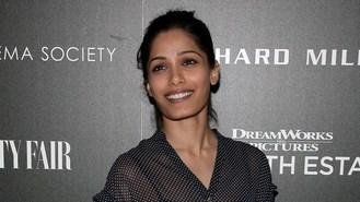 Freida Pinto goes Gorilla with Mars