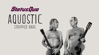 Status Quo strip down for album