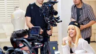 Rihanna's all smiles for TV role