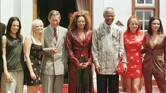 Spice Girls in tribute to Mandela