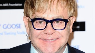 Elton: My son shows music talent