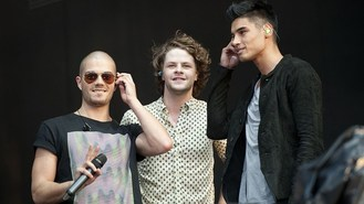 The Wanted toughen up for video