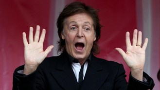 McCartney: No idea how songs happen