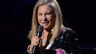 Streisand pride at Brooklyn concert