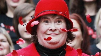 Susan Boyle launches Poppy Appeal