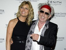 Book prize for Keith Richards