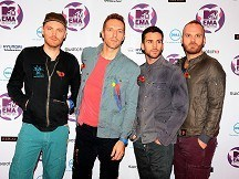 Coldplay kick off MTV ceremony