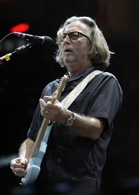 Clapton strikes a chord at auction