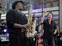 Sax player Clarence Clemons dies