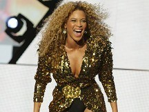 Beyonce to be beamed up to Wales