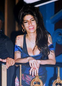 Amy Winehouse in Priory clinic