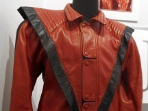 Thriller jacket goes on tour