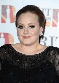 Adele back on top in album charts