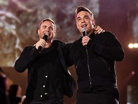 Gary and Robbie in diet battle