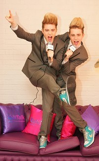 Byrne: Jedward to do Ireland proud
