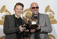 La Roux's delight at Grammy win
