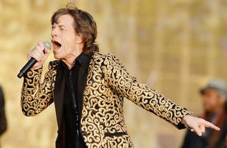 The Rolling Stones earn £70 million on tour