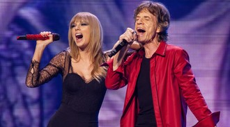 Taylor Swift finds Satisfaction with Rolling Stones' Mick Jagger