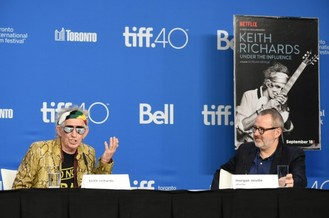 TIFF 2015: Satisfaction for Rolling Stone Keith Richards over solo album and film