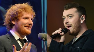 Ed Sheeran and Sam Smith go head-to-head for Song of the Year