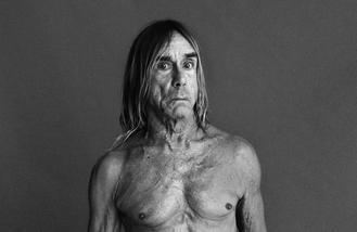 Iggy Pop and Adam Ant for The Isle of Wight Festival 2016