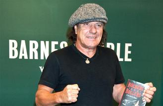 ACDC's Brian Johnson warned to quit touring or face total hearing loss