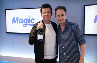 Rick Astley tops UK chat with album '50'