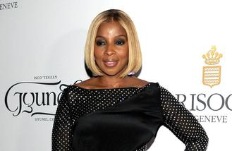 Mary J. Blige records 'crazy' song with Kanye West