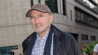 Phil Collins honouring late dad with bench plaque