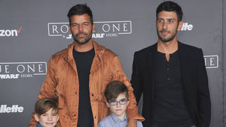 Ricky Martin treats sons to pre-Christmas Disneyland trip