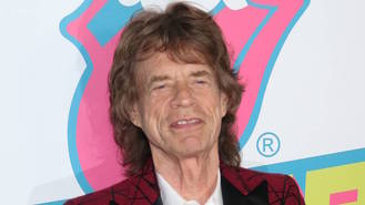 Mick Jagger's newborn son makes social media debut