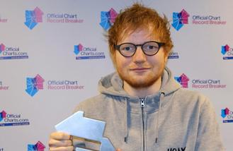 Ed Sheeran beats Adele's comeback record with new singles