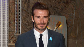 David Beckham plays down son Cruz's pop career