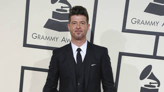 Robin Thicke has only seen son once since losing custody - report