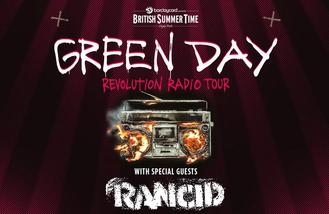 Rancid to support Green Day at BST Hyde Park