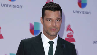 Ricky Martin's twin sons are his toughest critics