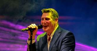 Tony Hadley says use of Spandau Ballet's Gold in washing detergent ad is 'embarrassing'
