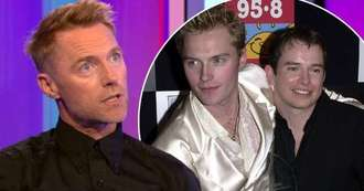Ronan Keating tears up as he discusses Stephen Gately and his goodbye song to him