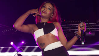 Azealia Banks 'incredibly flattered' to be collaborating with Iggy Azalea