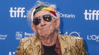 Keith Richards: 'Snorting dad felt right'