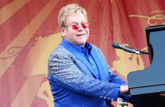 Elton John intimidated by John Lennon