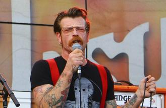 Eagles of Death Metal fan's ear bitten off at gig