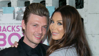 Nick Carter shares first photo of newborn son