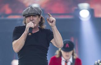 AC/DC's Brian Johnson records songs with Jim Breuer