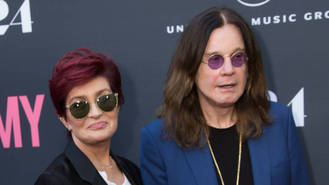 Ozzy and Sharon Osbourne are 'back on track'
