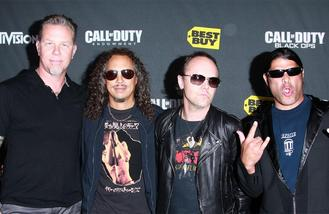 Metallica plot extensive tour of America in 2017