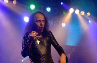Ronnie James Dio hologram makes debut