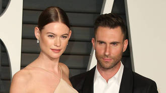Adam Levine and wife welcome baby girl - report