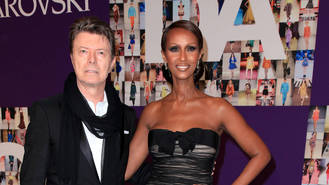 Iman leads birthday tributes to David Bowie