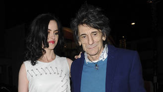 Ronnie Wood: 'Snuggling with the twins is my idea of heaven'